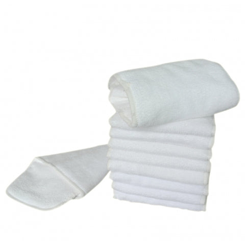 3-Layer OSFM Microfibre Insert - Chirpy Cheeks Nappy Store - cloth nappies, wetbags, mama pads, breast pads, swim nappies