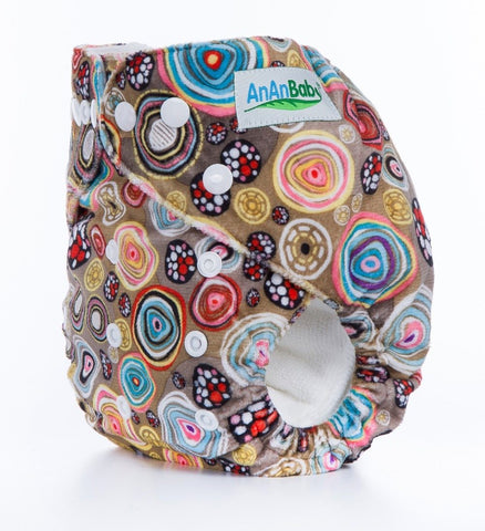 OSFM Minky Pocket Nappy - D5 - Chirpy Cheeks Nappy Store - cloth nappies, wetbags, mama pads, breast pads, swim nappies