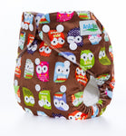 OSFM Minky Pocket Nappy - D7 - Chirpy Cheeks Nappy Store - cloth nappies, wetbags, mama pads, breast pads, swim nappies