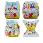 OSFM Pocket Nappy - DY11 - Chirpy Cheeks Nappy Store - cloth nappies, wetbags, mama pads, breast pads, swim nappies