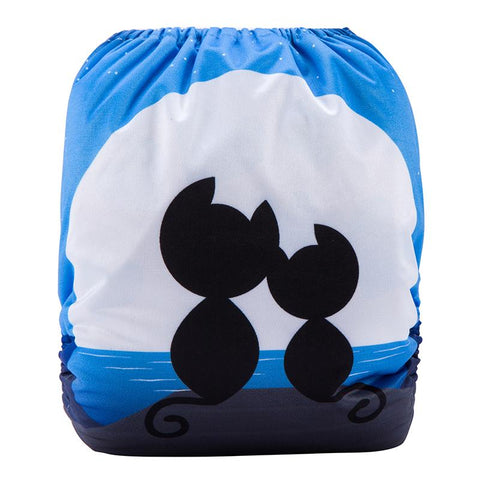 OSFM Pocket Nappy - DY16 - Chirpy Cheeks Nappy Store - cloth nappies, wetbags, mama pads, breast pads, swim nappies