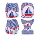 OSFM Pocket Nappy - DY17 - Chirpy Cheeks Nappy Store - cloth nappies, wetbags, mama pads, breast pads, swim nappies