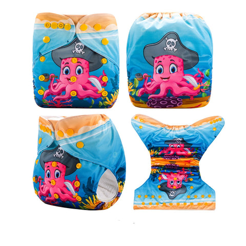 OSFM Pocket Nappy - DY27 - Chirpy Cheeks Nappy Store - cloth nappies, wetbags, mama pads, breast pads, swim nappies