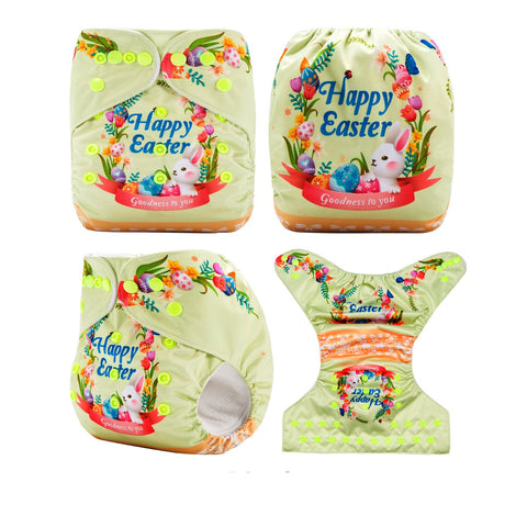 OSFM Pocket Nappy - DY29 - Chirpy Cheeks Nappy Store - cloth nappies, wetbags, mama pads, breast pads, swim nappies