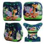OSFM Pocket Nappy - DY43 - Chirpy Cheeks Nappy Store - cloth nappies, wetbags, mama pads, breast pads, swim nappies