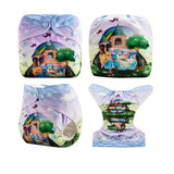 OSFM Pocket Nappy - DY44 - Chirpy Cheeks Nappy Store - cloth nappies, wetbags, mama pads, breast pads, swim nappies