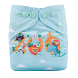 OSFM Pocket Nappy - DY46 - Chirpy Cheeks Nappy Store - cloth nappies, wetbags, mama pads, breast pads, swim nappies