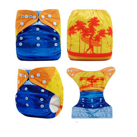OSFM Pocket Nappy - DY50 - Chirpy Cheeks Nappy Store - cloth nappies, wetbags, mama pads, breast pads, swim nappies