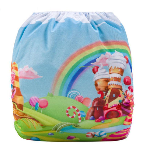 OSFM Pocket Nappy - DY8 - Chirpy Cheeks Nappy Store - cloth nappies, wetbags, mama pads, breast pads, swim nappies