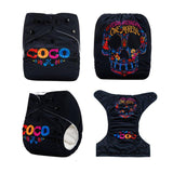 OSFM Pocket Nappy - DYQ7 - Chirpy Cheeks Nappy Store - cloth nappies, wetbags, mama pads, breast pads, swim nappies