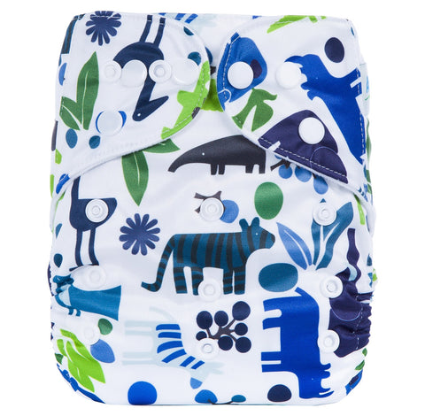 OSFM Pocket Nappy - G12 - Chirpy Cheeks Nappy Store - cloth nappies, wetbags, mama pads, breast pads, swim nappies