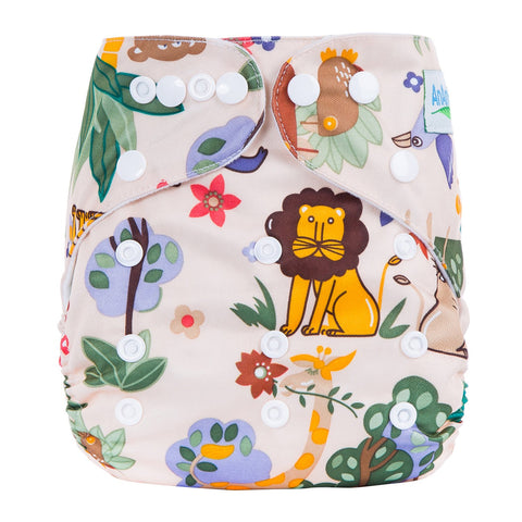 OSFM Pocket Nappy - L5 - Chirpy Cheeks Nappy Store - cloth nappies, wetbags, mama pads, breast pads, swim nappies