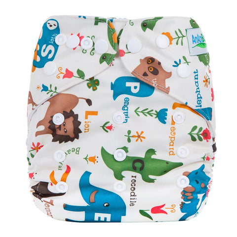OSFM Pocket Nappy - L8 - Chirpy Cheeks Nappy Store - cloth nappies, wetbags, mama pads, breast pads, swim nappies