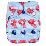 OSFM Pocket Nappy - N6 - Chirpy Cheeks Nappy Store - cloth nappies, wetbags, mama pads, breast pads, swim nappies