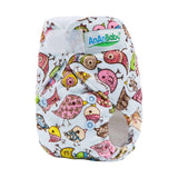 Velcro Newborn Pocket Nappy - NBD8