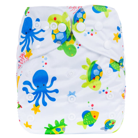 OSFM Pocket Nappy - R5 - Chirpy Cheeks Nappy Store - cloth nappies, wetbags, mama pads, breast pads, swim nappies