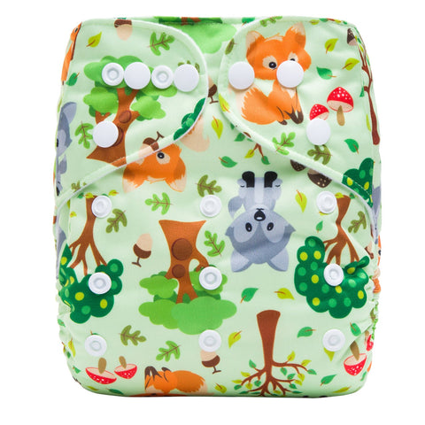 OSFM Pocket Nappy - S14 - Chirpy Cheeks Nappy Store - cloth nappies, wetbags, mama pads, breast pads, swim nappies
