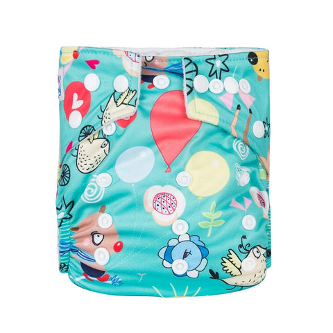 OSFM Pocket Nappy - N88 - Chirpy Cheeks Nappy Store - cloth nappies, wetbags, mama pads, breast pads, swim nappies
