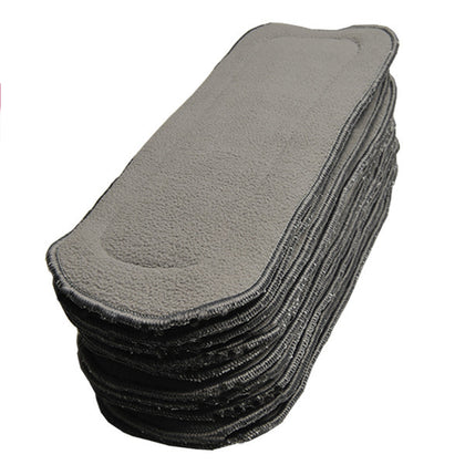 5-layer OSFM Bamboo Charcoal Insert - Chirpy Cheeks Nappy Store - cloth nappies, wetbags, mama pads, breast pads, swim nappies