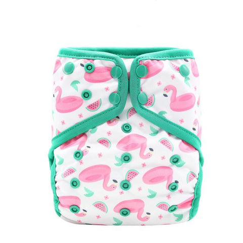 OSFM Nappy Cover - EF215 - Chirpy Cheeks Nappy Store - cloth nappies, wetbags, mama pads, breast pads, swim nappies