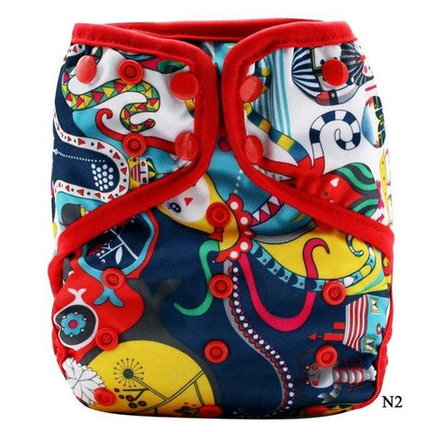 OSFM Nappy Cover - N2 - Chirpy Cheeks Nappy Store - cloth nappies, wetbags, mama pads, breast pads, swim nappies