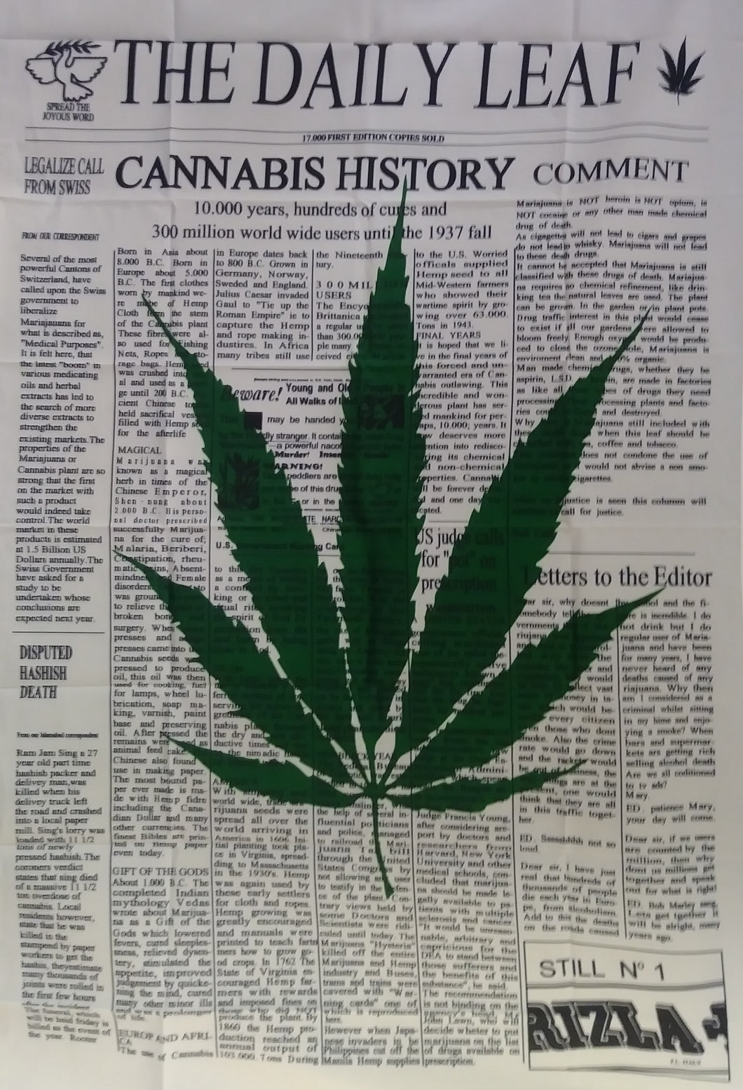 Cannabis History Flag