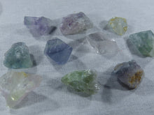 Fluorite (Rainbow)- Raw, Small