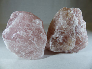Rose Quartz - Raw, Large