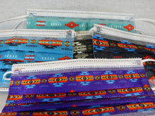 10 Pack - Native Print Disposable Face Masks