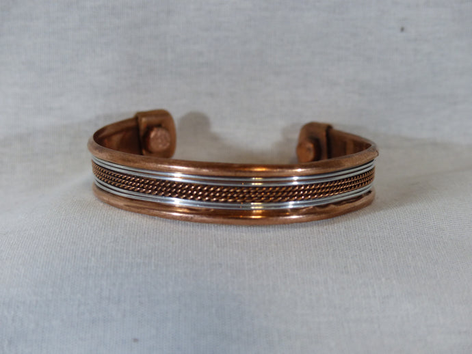 Braided Copper Bracelet