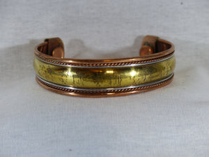 Fake Tarnished Copper Bracelet