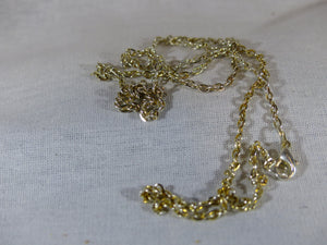 Silver & Gold Chain - 25""