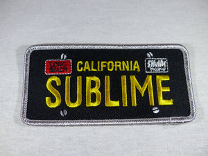 Sublime License Plate