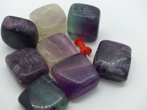 Fluorite (Rainbow) - Polished, Cubes