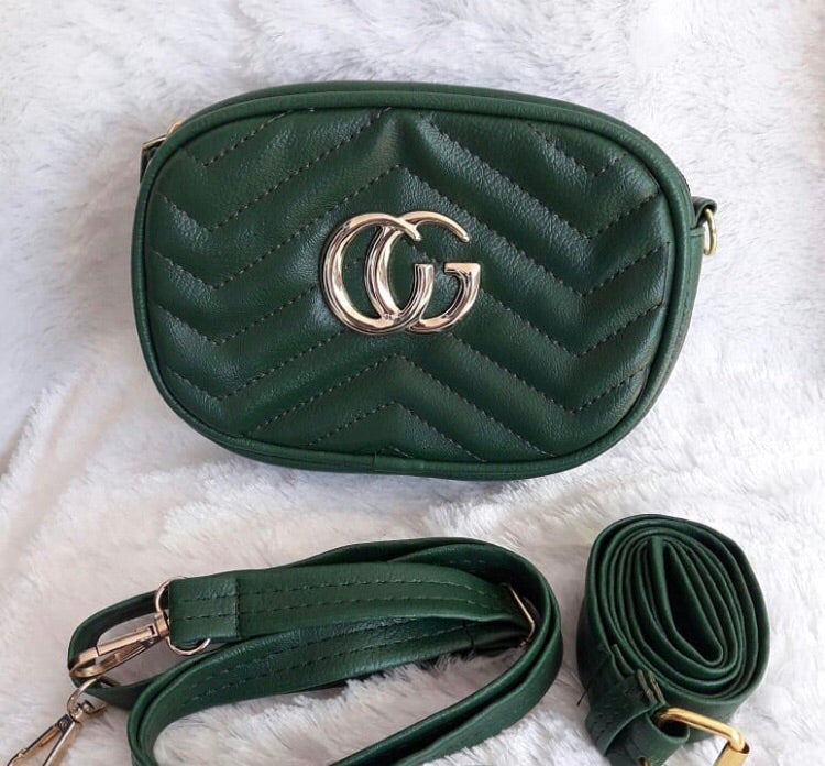 CG Marmont Belt Bag - Green