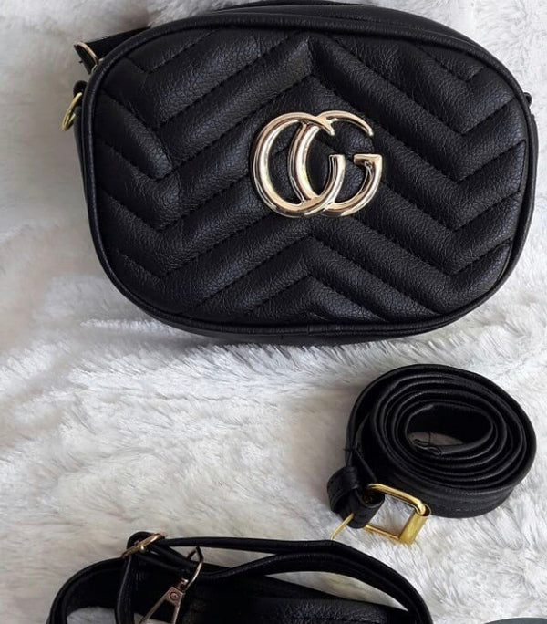 CG Marmont Belt Bag - Black