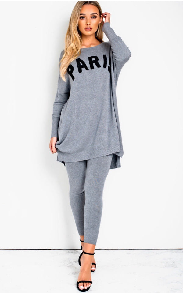 PARIS Loungeset - Grey