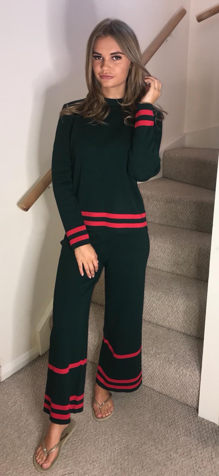 Styleesh Green Co- Ord