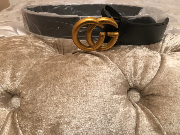 CG Leather Belt