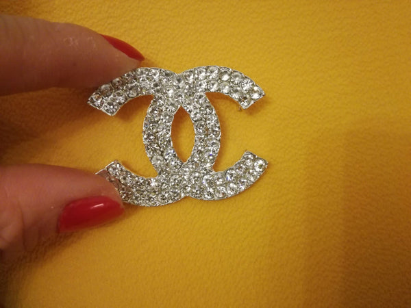Designer Inspired Diamond Brooch