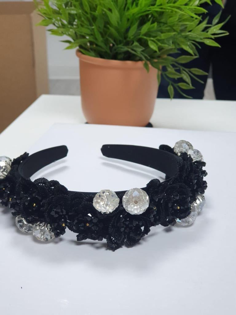 Jewel Embellished Headband (B)