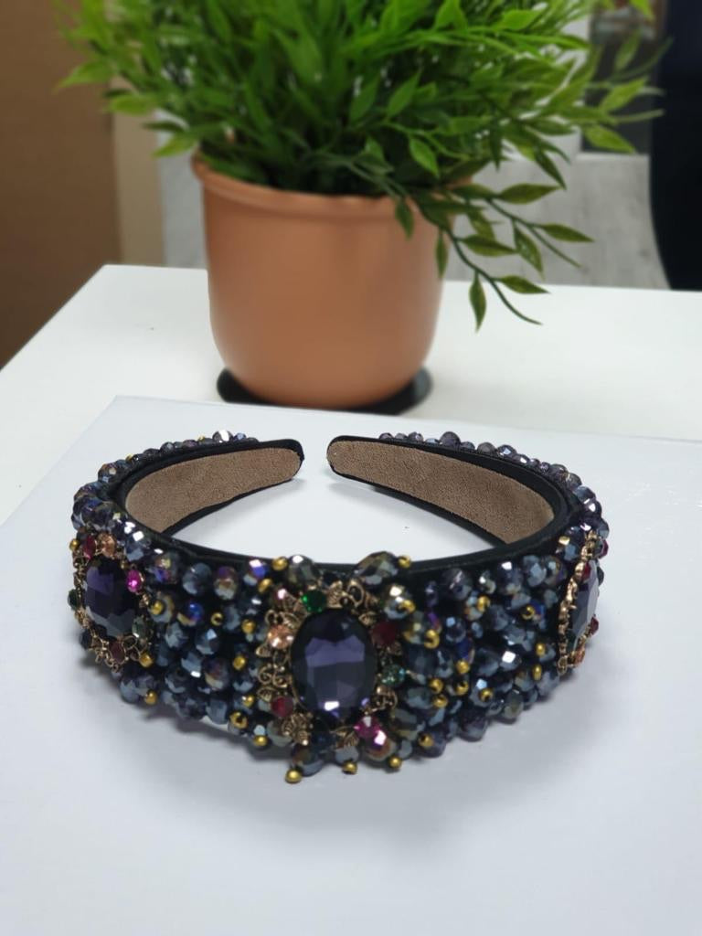 Jewel Embellished Headband (E)