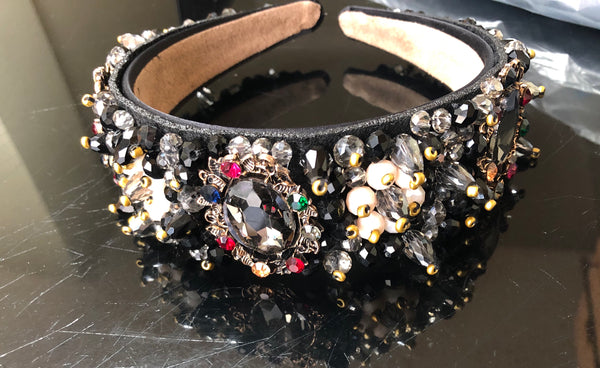 Jewel Embellished Headband (H)