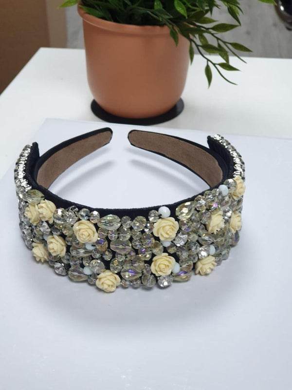 Jewel Embellished Headband (F)