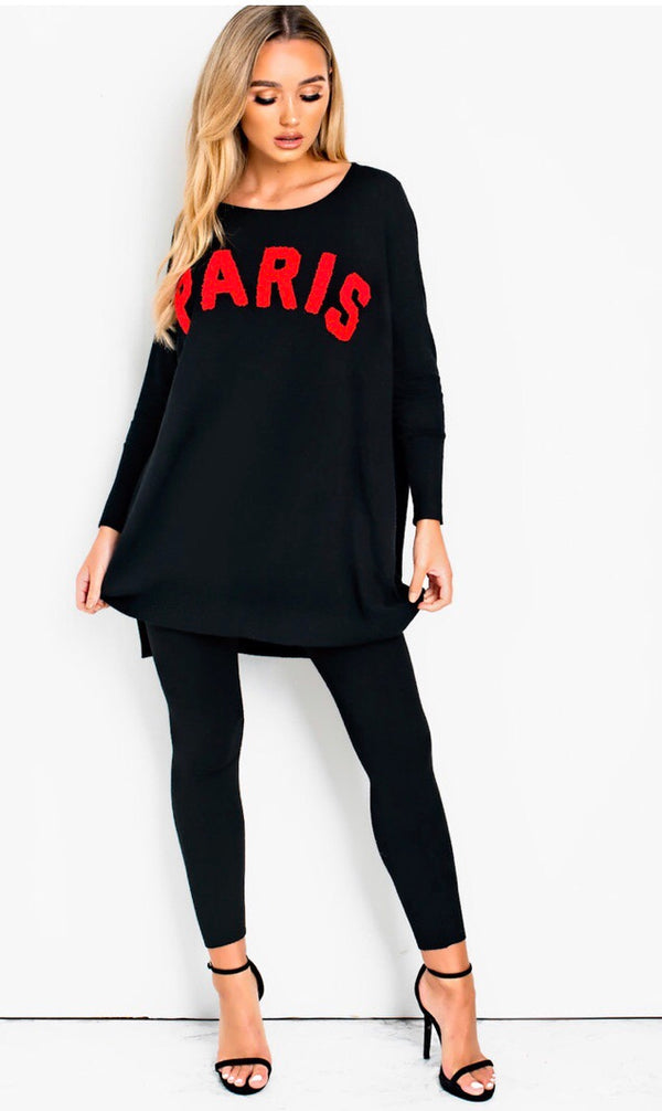 PARIS Loungeset - Black