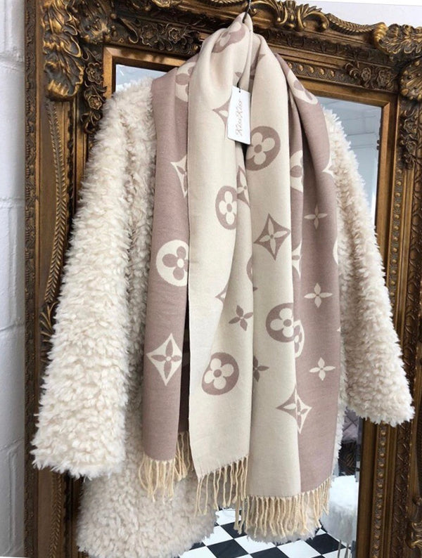 Louis Cashmere Scarf - Cream