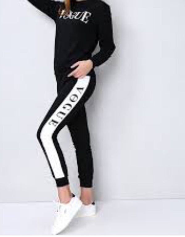 Black Vogue Tracksuit