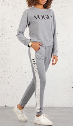 Grey Vogue Tracksuit