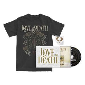 Love and Death - Limited Edition CD + Ribcage T-Shirt Bundle