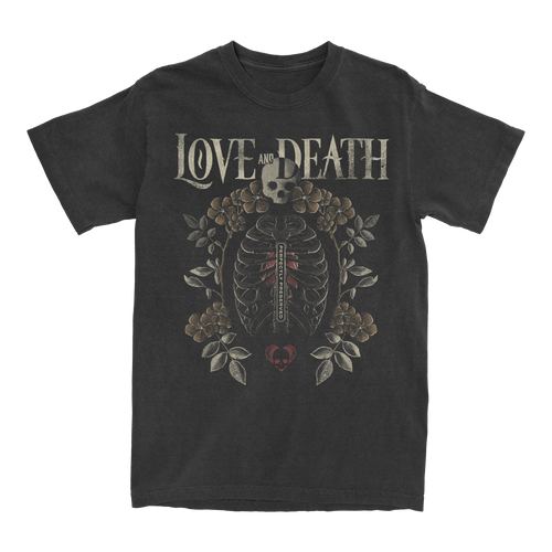 Love and Death Ribcage T-Shirt